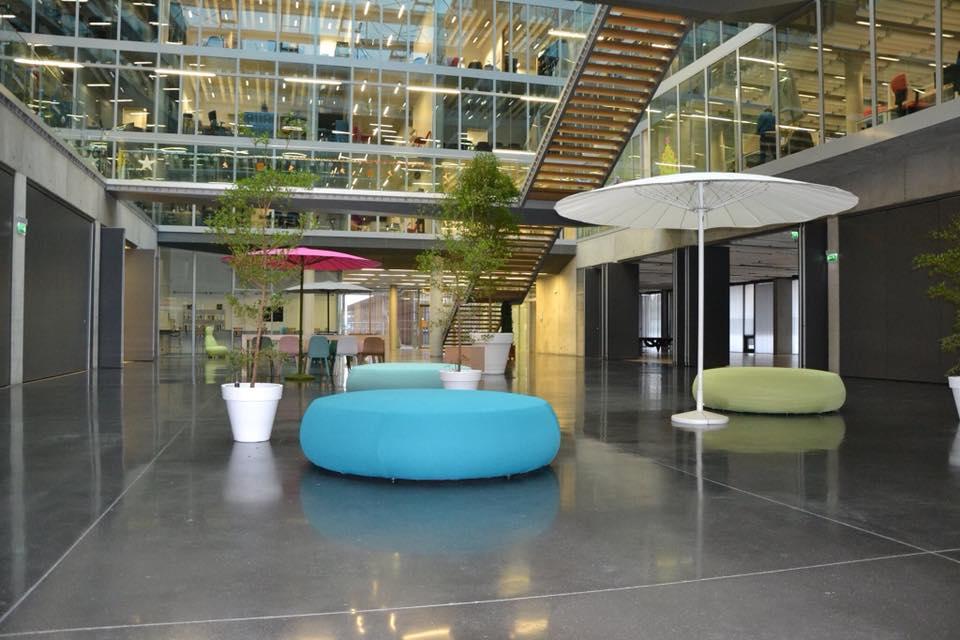 Mobilier et plantes pour décorer vos espaces de travail - Lille Paris