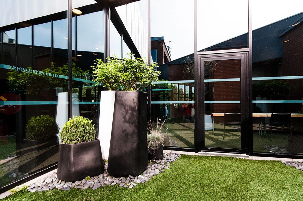 Aménagement Végétal extérieur - Cité des Échanges