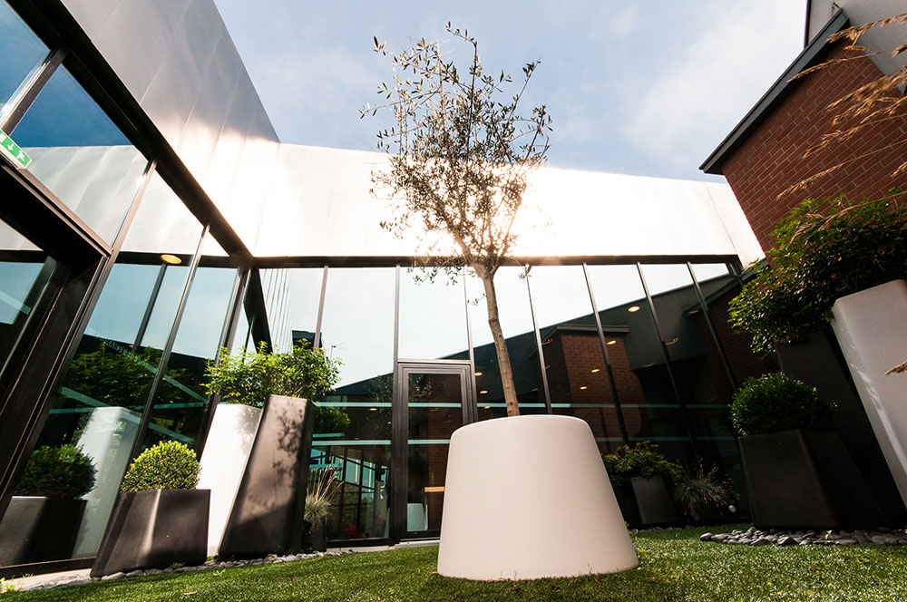 Cité des Échanges - Aménagement végétal extérieur