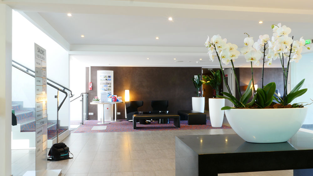 Réception - Holliday Inn - Louer vos plantes