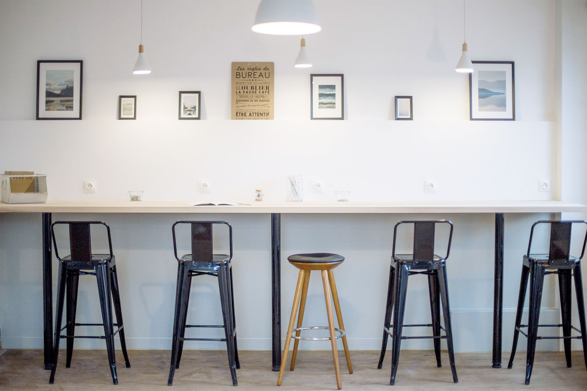 mobilier le 212 - Coworking Carvin