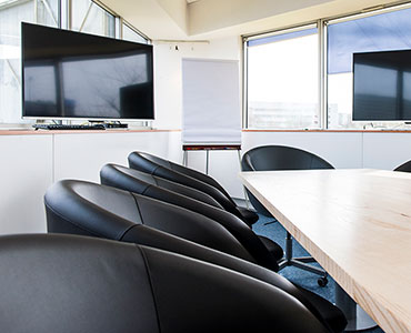 Location de plantes et mobilier dans une salle de réunion - Diagast