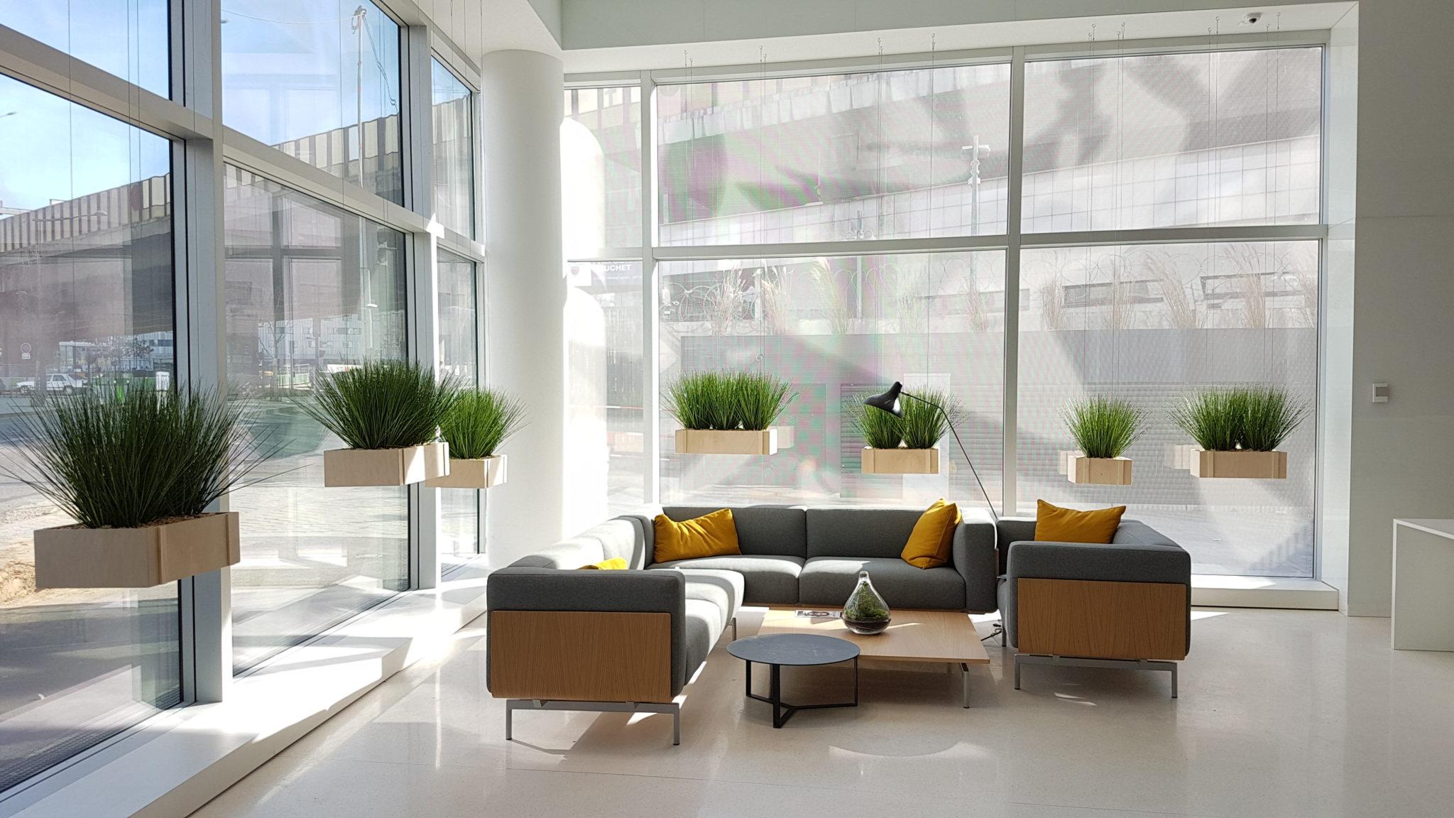 Aménagement d'espace entreprise en collaboation avec architecte Paris.