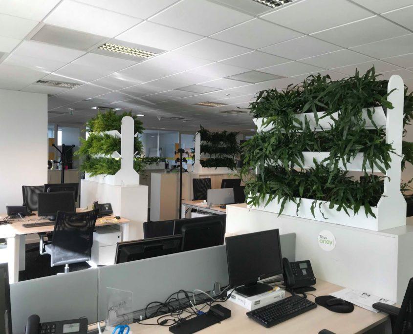 augmenter l'air de vos bureaux