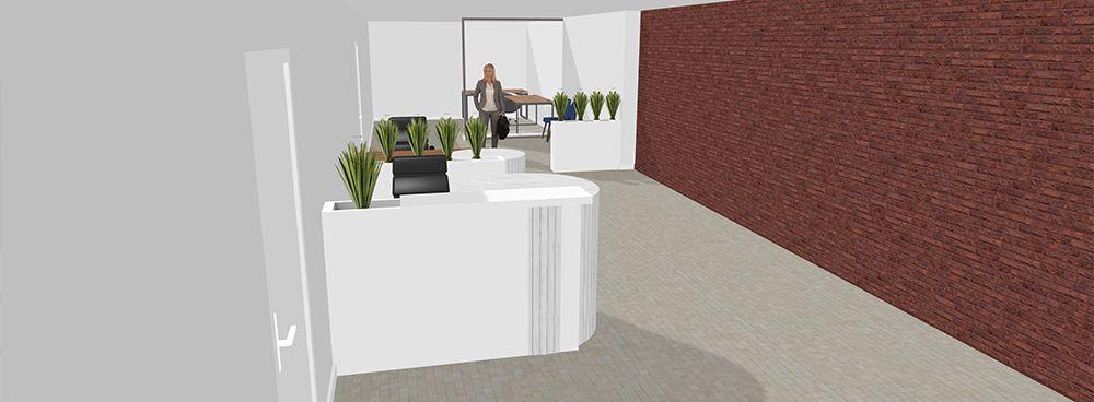Bureau études pour agencer vos bureaux par les plantes